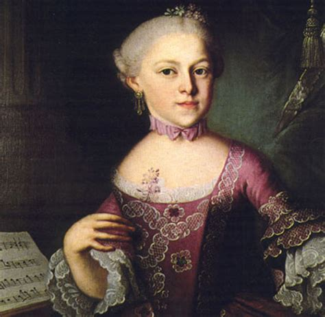 biography of nannerl mozart mozart s women his family his friends his music jane