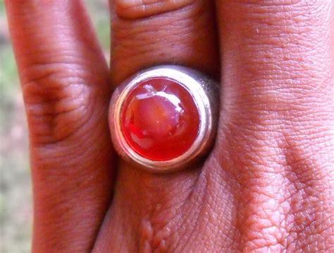 Batu Akik Yaman 14 koleksi batu antik ym14 batu yaman mata merah sold