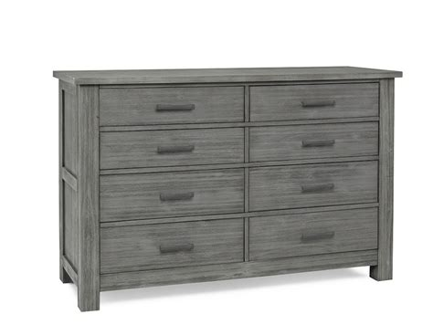 Weathered Grey Dresser by Docle Babi Lucca 8 Drawer Dresser Weathered Grey Ideal Baby