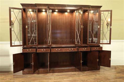 large china cabinet  traditional dining room mahogany