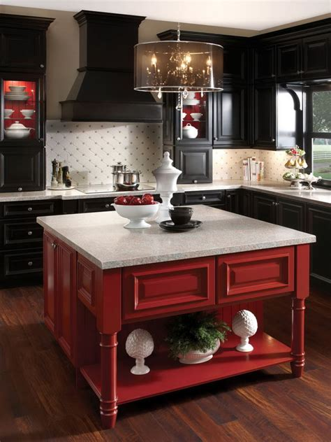 kitchen island red 20 cool kitchen island ideas hative