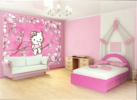 Stickers For Home Decoration Chambre Fille Chambre Hello Kitty Pour Fille