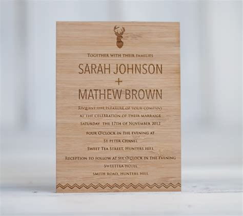 Handmade Wedding Invitations Australia - grain co one day one day