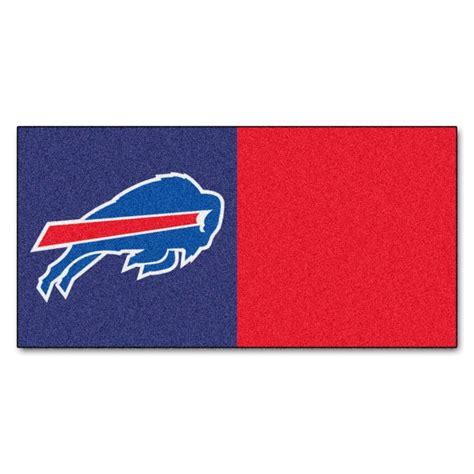 Window Blinds Denver Trafficmaster Nfl Buffalo Bills Blue And Red Nylon 18 In