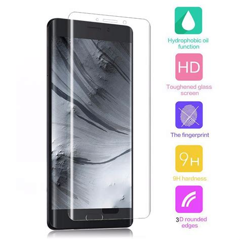 Silver Tempered Glass Xiaomi Note 2 Screen Protector 9h bakeey 3d curved cover anti explosion screen protector tempered glass for xiaomi mi note 2
