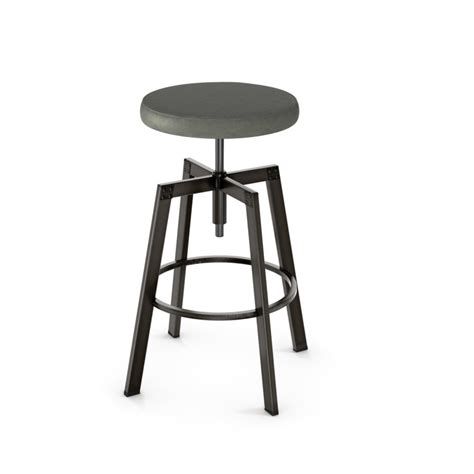 slim bar stool home envy furnishings solid wood architect backless stool home envy furnishings solid