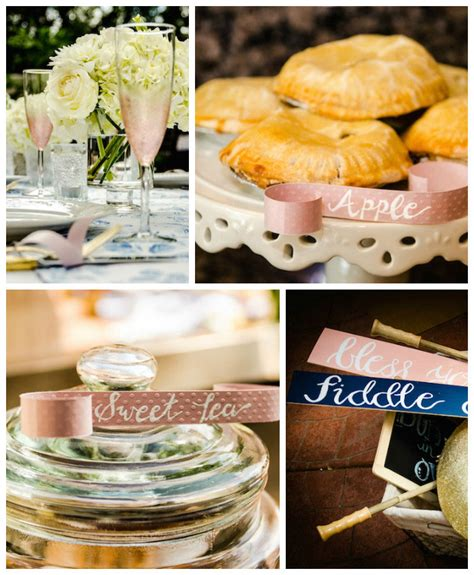 pie themed events kara s party ideas southern sweet as pie themed baby shower