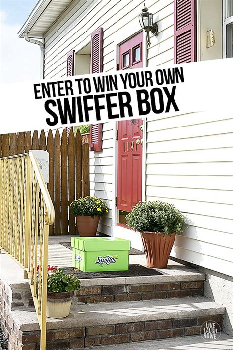 Swiffer Green Box Giveaway - the swiffer effect hits new jersey live laugh rowe