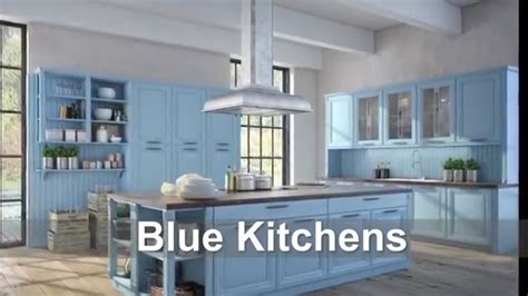blue painted kitchen cabinets download blue kitchens mpjdesignco k c r