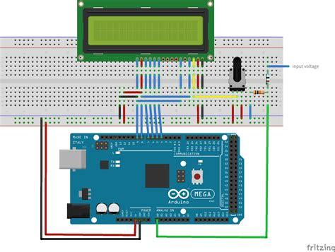 resistor divider arduino make a digital voltmeter using an arduino
