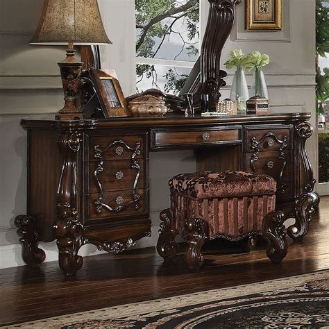 oak bedroom vanity versailles vanity desk cherry oak bedroom vanities