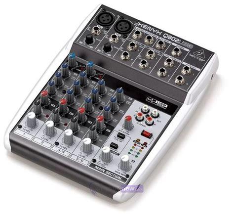 Behringer Mixer Xenyx Q802usb behringer xenyx q802usb whybuynew co uk