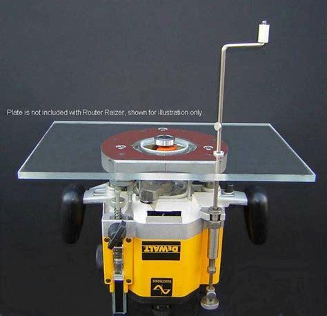 router lift router table height adjustment raiser raizer