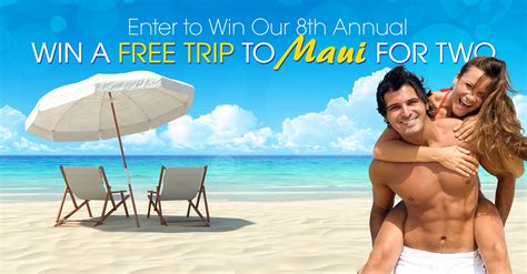 Win A Trip Sweepstakes - win a trip to maui on honolulu publishing company free trip to maui sweepstakes