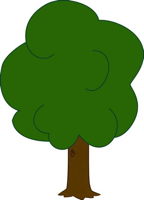 tree clipart free vector graphic oak tree forest plant ecology