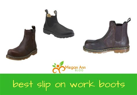 best slip on work boots finding the best slip on work boots megan