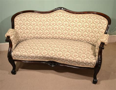 victorian settee loveseat regent antiques sofas and stools antique victorian
