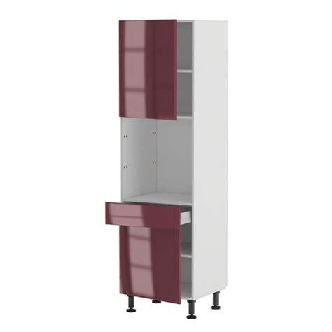 meuble colonne de cuisine meuble cuisine colonne four 60 200 4 1 porte 1 achat