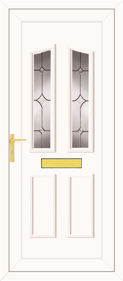 Upvc Front Doors Fitted Cost Clinton Two Tristar Upvc Front Door