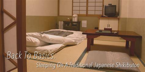 traditional japanese bed blog back to basics sleeping on a traditional japanese shikibuton