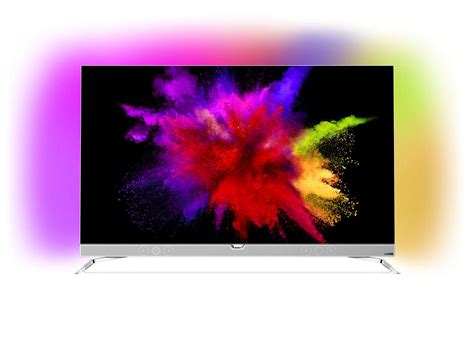 Ultraflacher Tv by Ultraflacher 4k Uhd Oled Android Tv 55pos901f 12 Philips