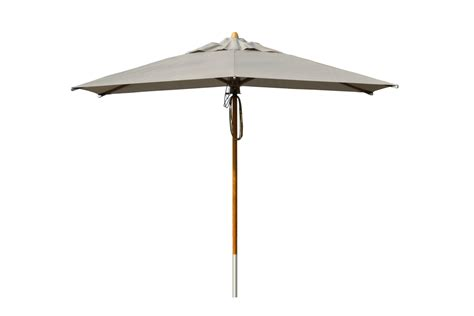contemporary wooden parasol grey bau outdoors