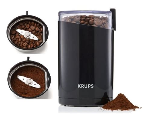 Electric Coffee Grinder krups electric spice coffee bean grinder stainless steel