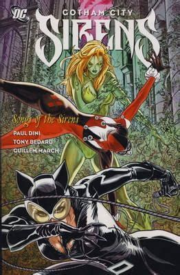 siren in the city sirens book 2 volume 2 books review gotham city sirens vol 2 songs of the sirens