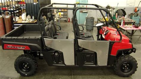 Polaris Ranger 800 Crew Doors by Iti Performance Rolls Out Their New Doors For The 2010