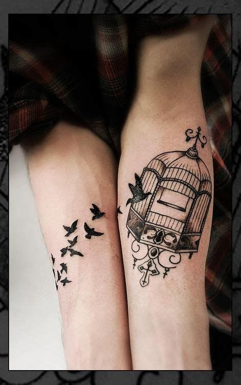 small detailed bird tattoos detailed bird cage pretty free