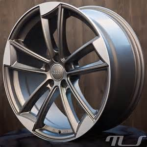 18 quot alloy wheels for audi a3 a4 a5 a6 a7 a8 q3 q5 tt rotor