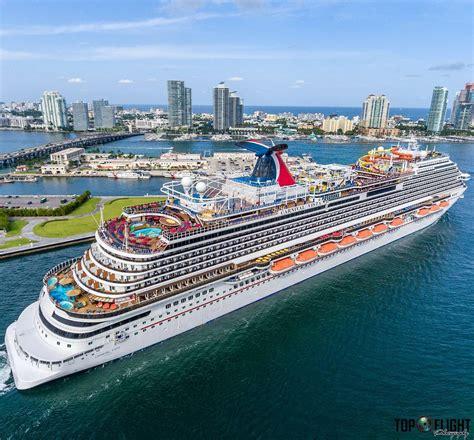 carnival vista boat inspiring aerial video of carnival vista cruise ship