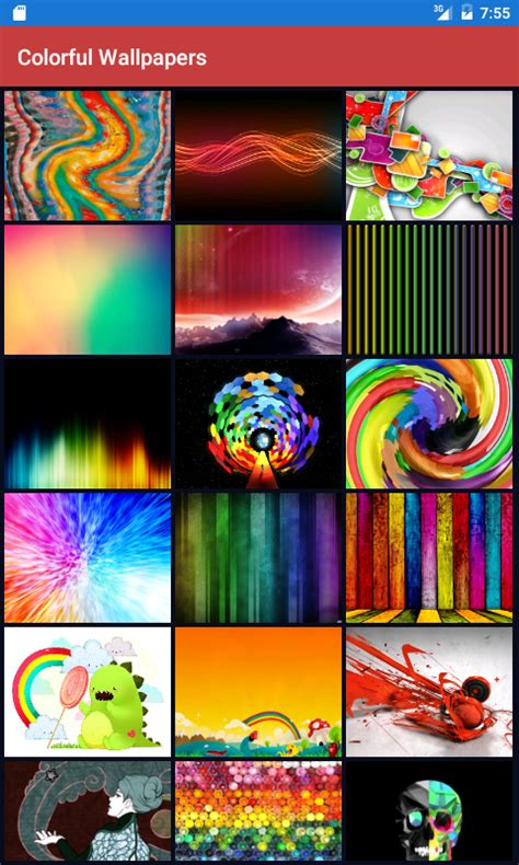 Colorful Wallpaper Apps | colorful wallpapers hd free android app android freeware