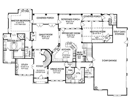 historic farmhouse floor plans house plan 96604 at familyhomeplans com