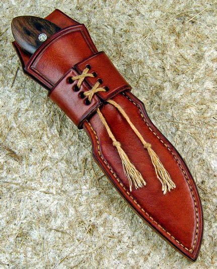 how to make a leather sheath for a knife sheath for my leather knife the knife network forums