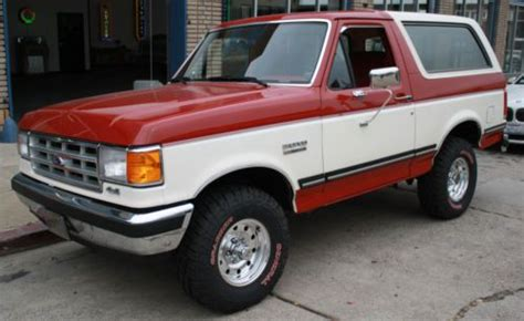 how to work on cars 1988 ford bronco ii parental controls purchase used 1988 ford bronco 4wd ultra clean 351 v8 auto driven owned in orange