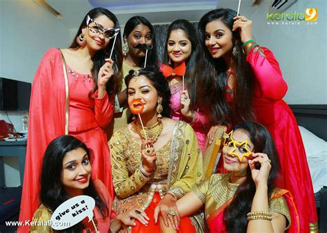 film actress bhavana engagement photos bhavana at shilpa bala engagement photos 063 00537