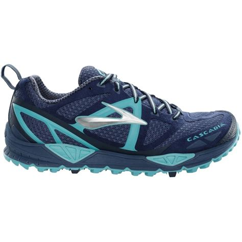 cascadia shoes running cascadia 9 trail running shoes indigo midnight marineblue