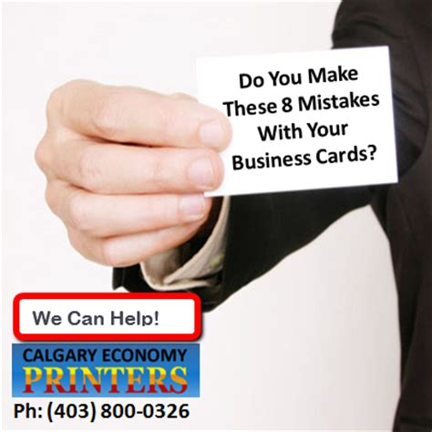 how do you make business cards how to avoid common business card mistakes calgary