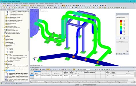 pipeline layout and features nuevos programas para ingenier 237 a estructural dlubal software