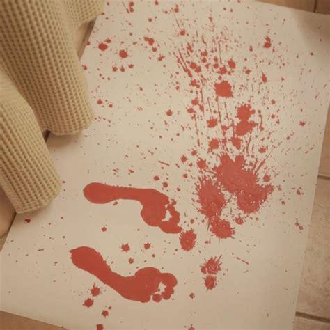 color changing bath mat color changing bloody bath mat 187 petagadget