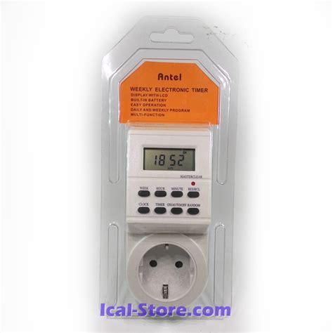 Hiko Stop Kontak Dengan Timer 1 stop kontak timer digital antel ical store ical store