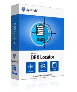 Dbx Tool dbx file locator tool detect outlook express dbx files