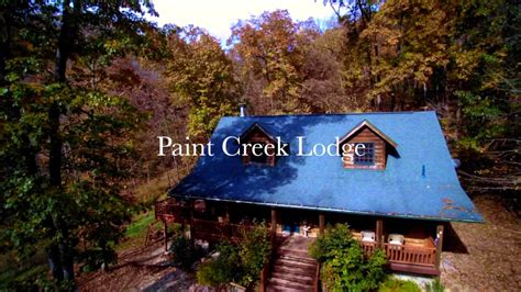 Paint Creek Cabins by Paint Creek Lodge With Iowa Cabin Rentals