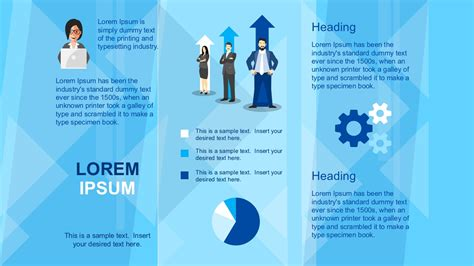 powerpoint templates for brochures business brochure powerpoint template slidemodel