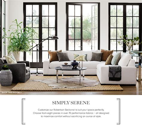 williams sonoma home simply serene furniture collection williams sonoma home
