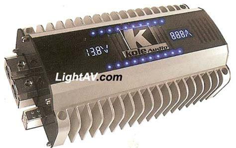 mega capacitor kole audio kole audio c 20d 20 farad 24 volt digital hybrid capacitor