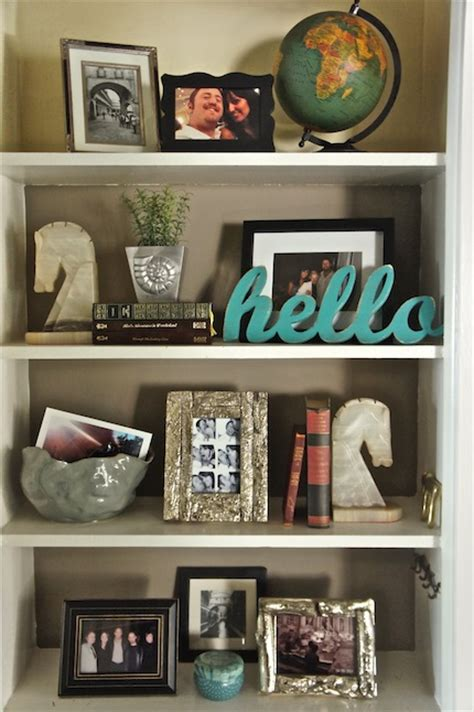 one way to decorate shelves culture scribe