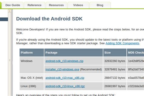 android sdk linux ubuntu に android 開発環境を構築する グロブ