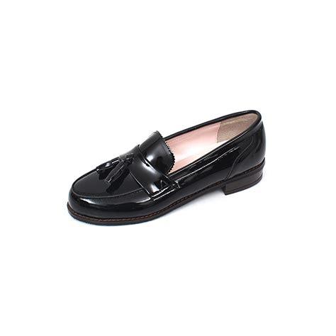 womens tassel loafers womens glossy tassel loafers